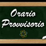 CIRCOLARE n. 21  Anno Scolastico 2020/2021 – Orario provvisorio 24/26 settembre 2020.